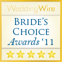 WeddingWire Wedding Awards 2011 Winner
