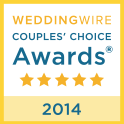 WeddingWire Wedding Awards 2014 Winner